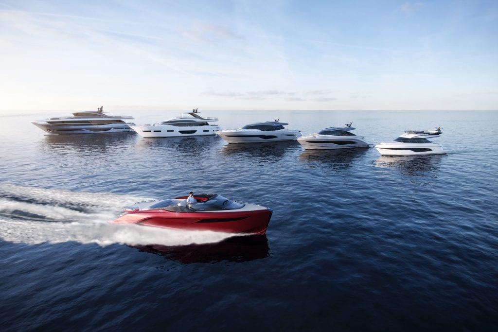 Princess Yachts presenta 6 rivoluzionari nuovi modelli