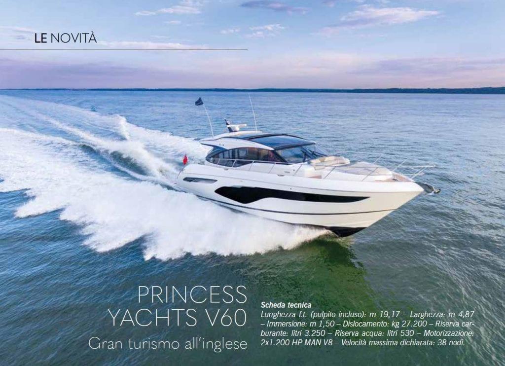 Princess V60: Gran Turismo all'inglese