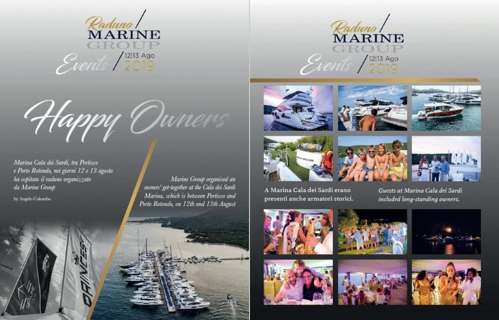 Raduno Marine Group: Happy Owners