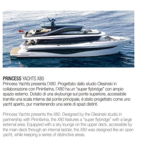 New Princess X80